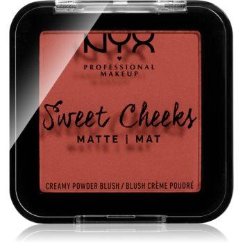 NYX Professional Makeup Sweet Cheeks Blush Matte tvářenka odstín SUMMER BREEZE 5 g