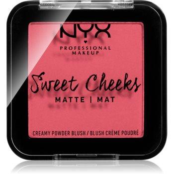 NYX Professional Makeup Sweet Cheeks Blush Matte tvářenka odstín DAY DREAM 5 g