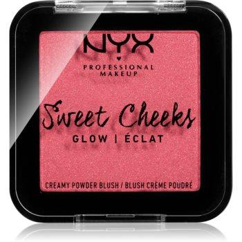 NYX Professional Makeup Sweet Cheeks Blush Glowy tvářenka odstín DAY DREAM 5 g
