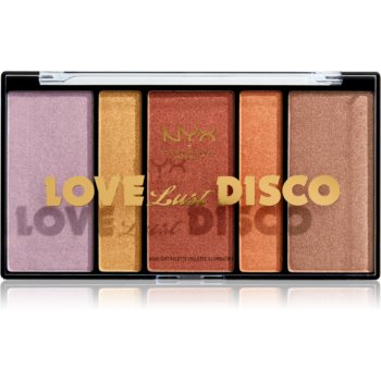 NYX Professional Makeup Love Lust Disco Highlight paletă de iluminatoare imagine 2021 notino.ro