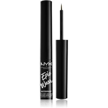 NYX Professional Makeup Epic Wear Liquid Liner tuș lichid pentru ochi, cu efect mat notino.ro