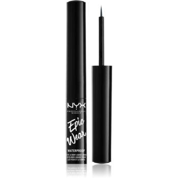 NYX Professional Makeup Epic Wear Liquid Liner tuș lichid pentru ochi, cu efect mat imagine 2021 notino.ro