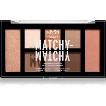 NYX Professional Makeup Matchy-Matchy paletă cu farduri de ochi notino.ro