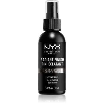 NYX Professional Makeup Makeup Setting Spray Radiant spray pentru fixare și strălucire imagine 2021 notino.ro