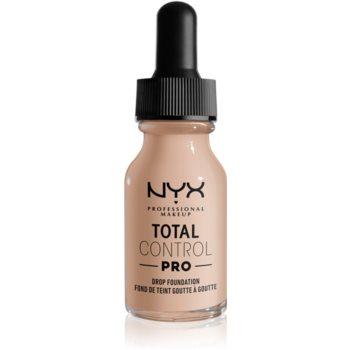 NYX Professional Makeup Total Control Pro Drop Foundation make up imagine 2021 notino.ro