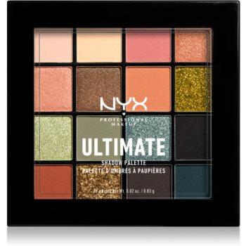 NYX Professional Makeup Ultimate Shadow paletă cu farduri de ochi imagine 2021 notino.ro