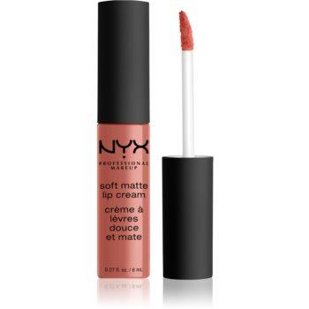 NYX Professional Makeup Soft Matte Lip Cream ruj lichid mat, cu textura lejera image0
