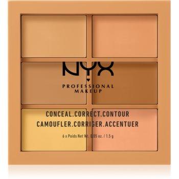 NYX Professional Makeup Conceal. Correct. Contour paletă de contur și corectare imagine 2021 notino.ro