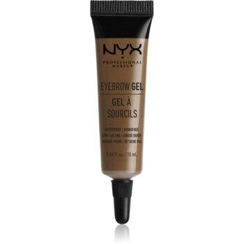 NYX Professional Makeup Eyebrow Gel gel pentru sprâncene rezistent la apă imagine 2021 notino.ro