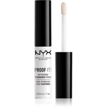 NYX Professional Makeup Proof It! baza pentru fardul de ochi imagine 2021 notino.ro