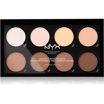 NYX Professional Makeup Highlight & Contour PRO Patela pentru conturul fetei imagine 2021 notino.ro