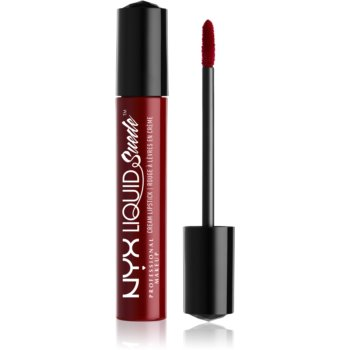 NYX Professional Makeup Liquid Suede™ Cream ruj de buze lichid, rezistent la apa si cu finisaj matifiant image0
