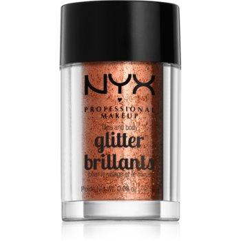 NYX Professional Makeup Glitter Goals sclipici pentru față și corp notino.ro