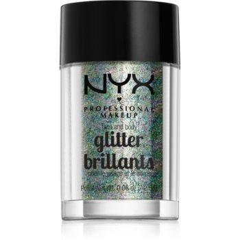 NYX Professional Makeup Glitter Goals sclipici pentru față și corp imagine 2021 notino.ro