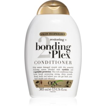 OGX Bonding Plex balsam pentru regenerare pentru păr foarte deteriorat și vârfuri despicate notino.ro
