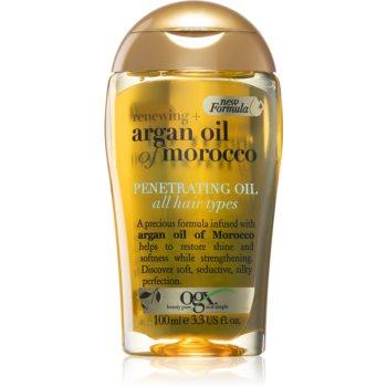OGX Argan Oil Of Morocco ulei hrănitor pentru un par stralucitor si catifelat imagine 2021 notino.ro