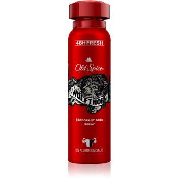 Old Spice Wolfthorn deodorant spray pentru bărbați