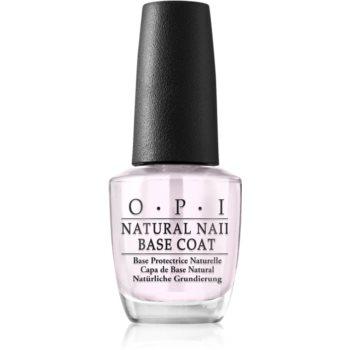 OPI Natural Nail Base Coat baza pentru machiaj pentru unghii image0