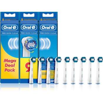 Oral B Precision Clean EB 20 capete de schimb pentru periuta de dinti 9 buc imagine 2021 notino.ro