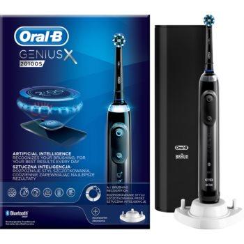 Oral B GeniusX 20100S Midnight Black periuta de dinti electrica imagine 2021 notino.ro