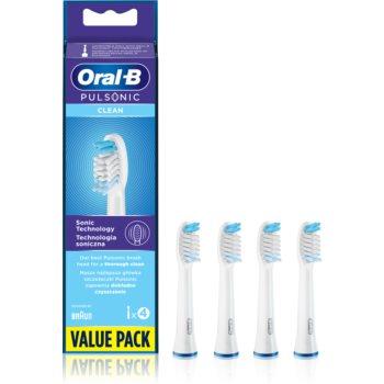 Oral B Pulsonic Clean SR 32-4 capete de schimb pentru periuta de dinti imagine 2021 notino.ro