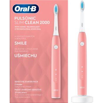 Oral B Pulsonic Slim Clean 2000 Pink periuta de dinti electrica sonica notino poza