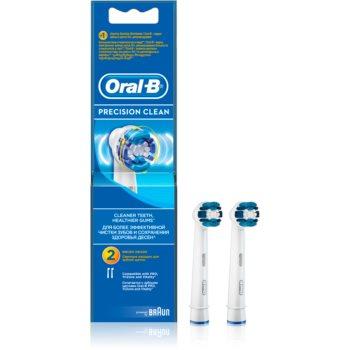 Oral B Precision Clean EB 20 capete de schimb pentru periuta de dinti 2 pc imagine 2021 notino.ro