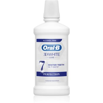 Oral B 3D White Luxe apa de gura pentru albire imagine 2021 notino.ro