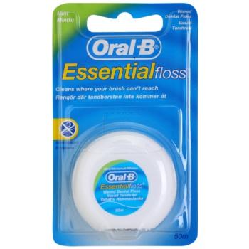 Oral B Essential Floss ata dentara cu aroma de menta imagine 2021 notino.ro