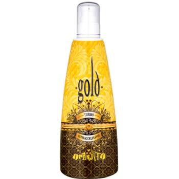 Oranjito Max. Effect Gold Turbo Lapte de bronzare la solar pentru accelerarea bronzului imagine 2021 notino.ro