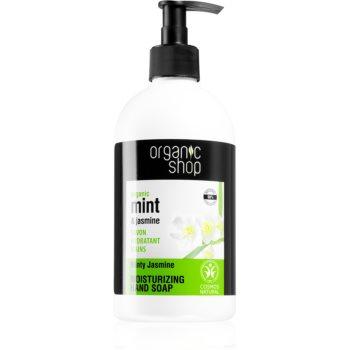 Organic Shop Organic Minty Jasmine Săpun lichid pentru mâini cu efect de hidratare imagine 2021 notino.ro