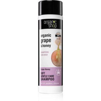 Organic Shop Organic Grape & Honey șampon de îngrijire delicată notino.ro