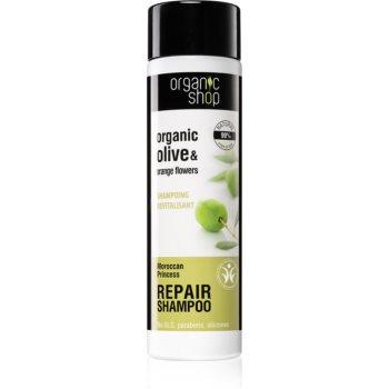 Organic Shop Organic Olive & Orange Flowers șampon regenerator imagine 2021 notino.ro