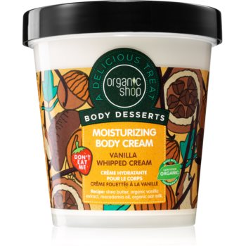 Organic Shop Body Desserts Vanilla crema de corp hidratanta imagine 2021 notino.ro