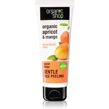 Organic Shop Organic Apricot & Mango crema exfolianta imagine 2021 notino.ro