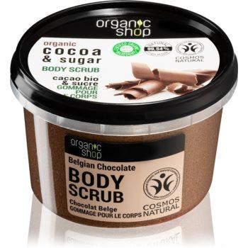 Organic Shop Body Scrub Cocoa & Sugar exfoliant pentru corp imagine 2021 notino.ro