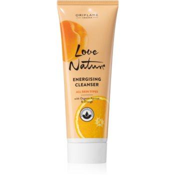 Oriflame Love Nature gel de curatare energizant pentru a improspata porii si pielea cu aspect obosit notino.ro