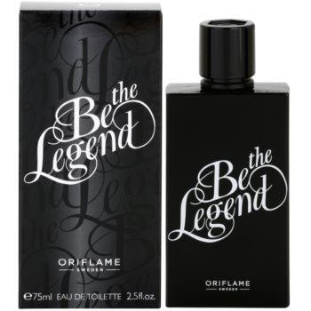 Oriflame Be the Legend Eau de Toilette pentru bărbați imagine 2021 notino.ro