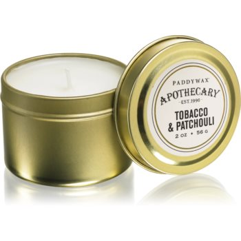 Paddywax Apothecary Tobacco & Patchouli lumanare parfumata in placa image0