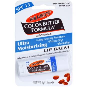 Palmer's Face & Lip Cocoa Butter Formula Balsam de buze hidratant SPF 15 notino.ro