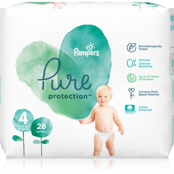 Pampers Pure Protection Size 4 scutece imagine 2021 notino.ro