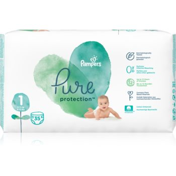 Pampers Pure Protection Size 1 scutece imagine 2021 notino.ro