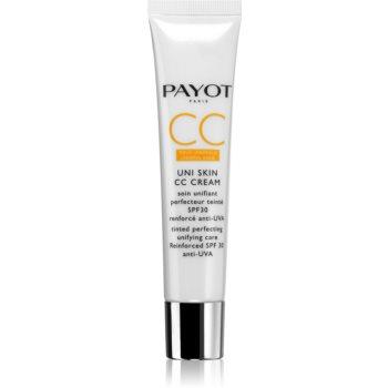 Payot Uni Skin CC Cream Crema CC pentru un ten uniform SPF 30 imagine 2021 notino.ro