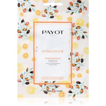 Payot Morning Mask Hangover mască textilă iluminatoare pentru toate tipurile de ten imagine 2021 notino.ro