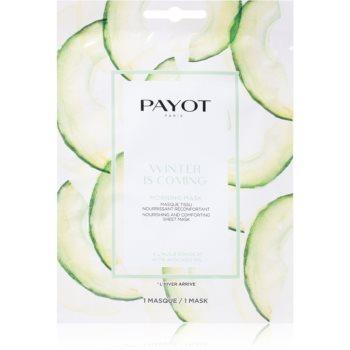 Payot Morning Mask Winter is Coming mască textilă nutritivă imagine 2021 notino.ro