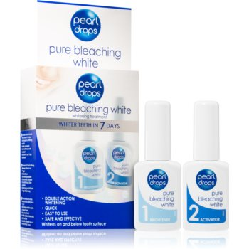 Pearl Drops Pure Bleaching White Kit pentru albirea dinților imagine 2021 notino.ro