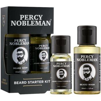 Percy Nobleman Beard Starter Kit set de cosmetice I. pentru bărbați imagine 2021 notino.ro