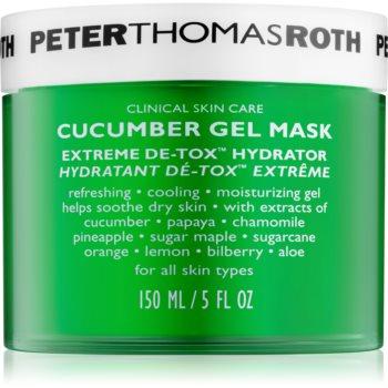 Peter Thomas Roth Cucumber De-Tox Masca gel hidratanta pentru fata si zona ochilor notino poza