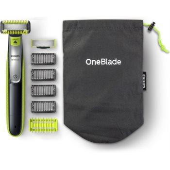 Philips OneBlade Face and Body QP2630/30 trimmer electric pentru par corp si fata notino poza