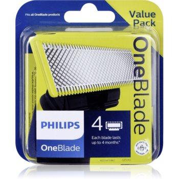 Philips OneBlade QP240/50 náhradní břity 4 ks